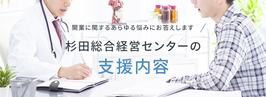 杉田総合経営センターの支援内容